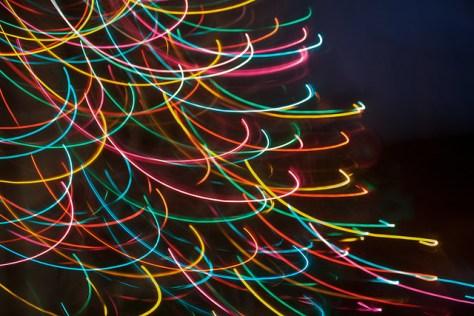 351/365 [2013] - Fun With Tree Lights