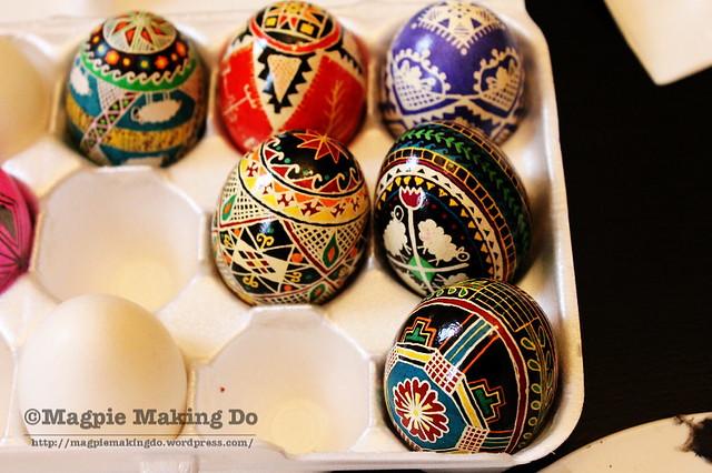 Last year's eggs details