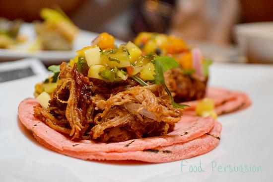 Morita chili bbq pulled pork.