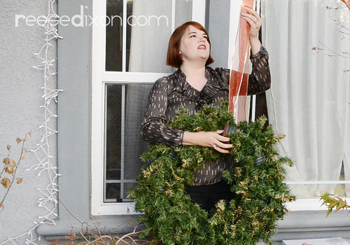 Outdoor Wreath Tutorial Step 3