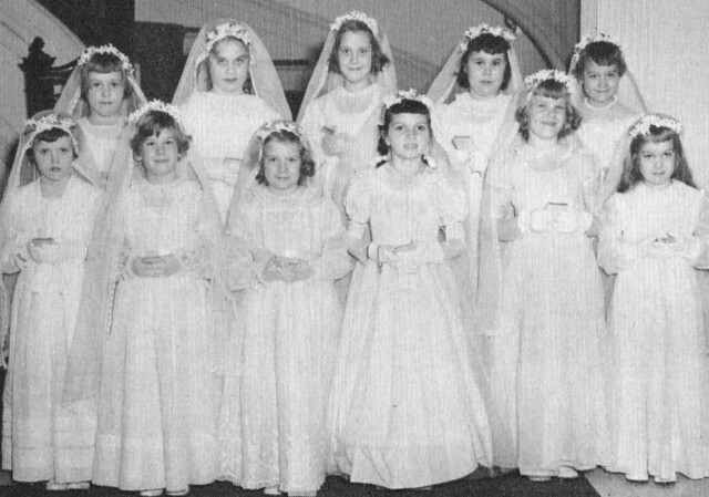 Marymount School New York City- Childrens First Holy Communion 1950's