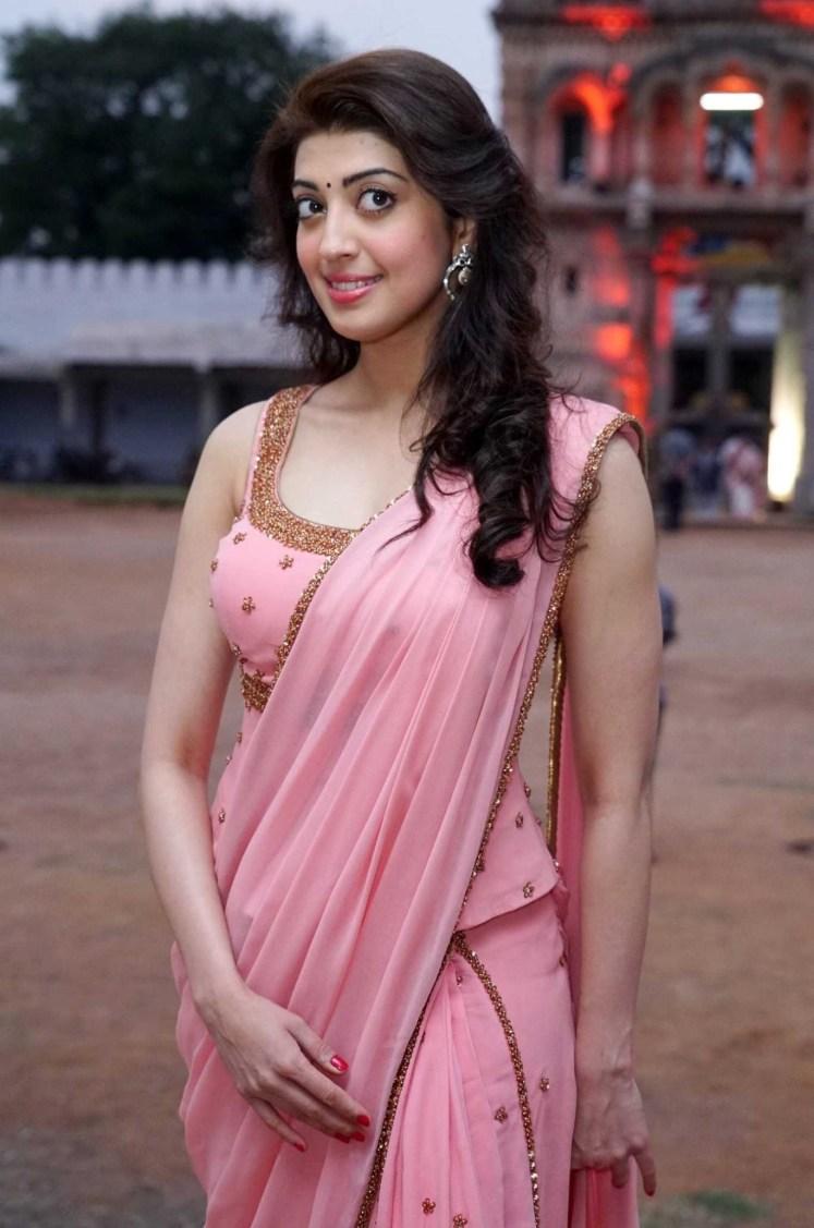 Pranitha Subhash Hot in Saree