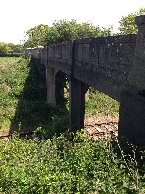 The Mid-Norfolk Railway, seen from the Wensum Way