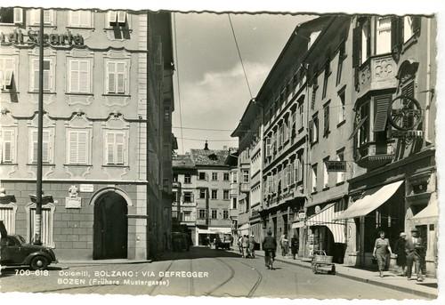 postcard - bolzano - via defregger