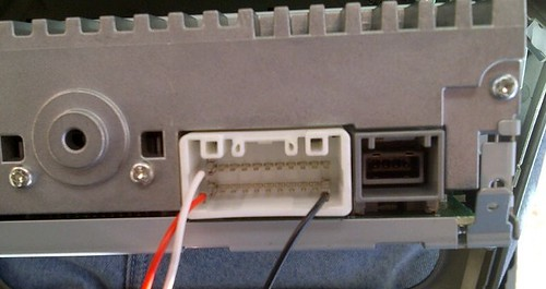 mitsubishi lancer audio wiring diagram 125cc quad bike aux cable installed and working! - i-miev forum