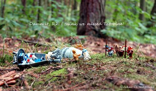 Damn it, R2! I think we missed Tatooine!