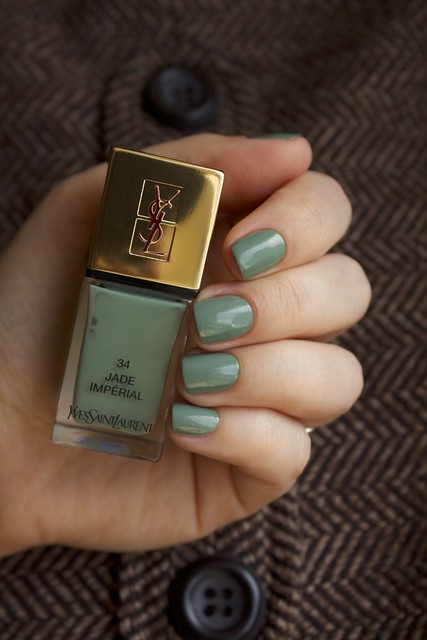 10 YSL Jade Imperial swatches