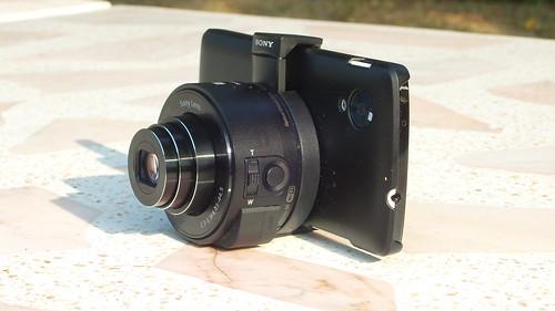 ประกอบร่าง Sony Cybershot QX-10 กับ LG Nexus 5