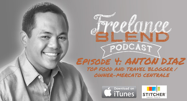 Fwd: Anton Diaz Interview for Freelance Blend Podcast now available