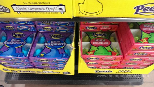 Peeps Blue Raspberry and Sour Watermelon
