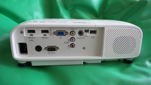 Epson EH-TW5200 ด้านหลัง