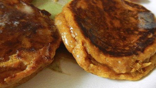 Puffy Pumpkin Pancakes 9