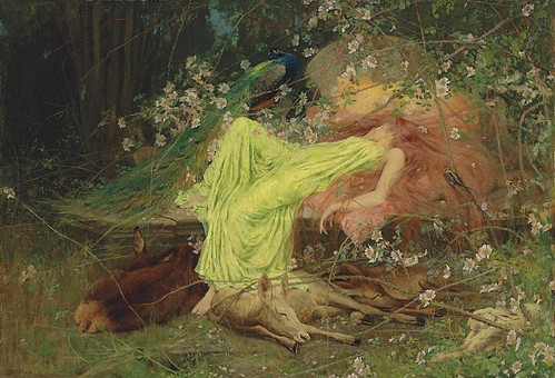 "Arthur Wardle ""A Fairy Tale"" by Art & Vintage"