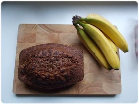 Bananen-chocoladecake