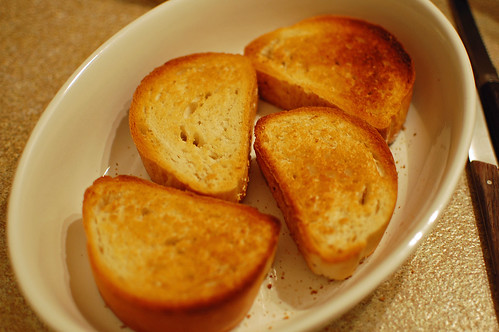 Toasted Bread with Garlic