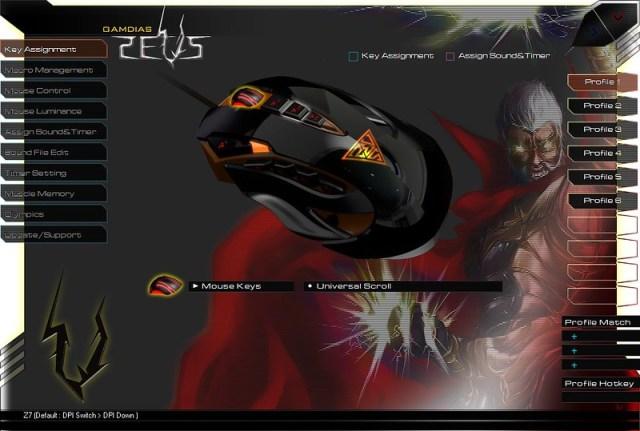 GAMDIAS ZEUS Esport Edition Laser Gaming Mouse 63