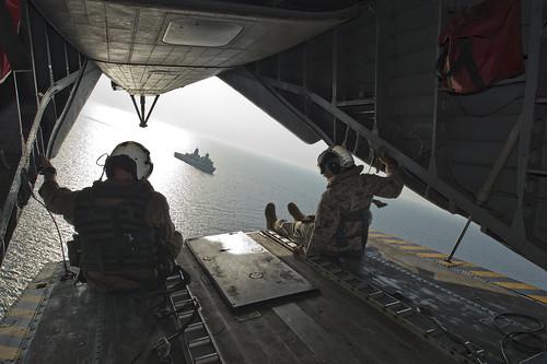 USS San Antonio GULF OF ADEN (Aug. 18, 2013)