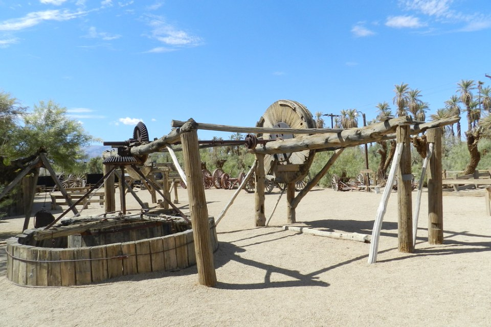 maquinaria Museo del Borax Rancho Furnace Creek Valle de la Muerte EEUU 13