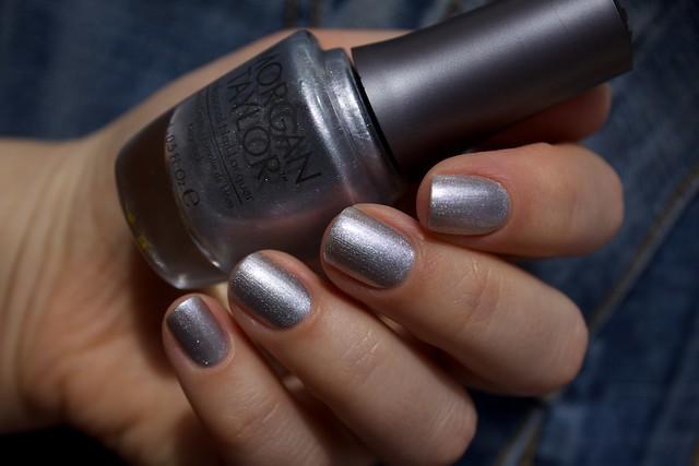 39 Morgan Taylor Oh Snap, It's Silver