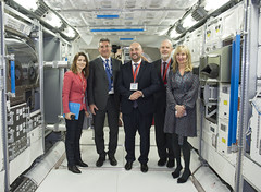 Luxembourg Deputy PM visits ESTEC