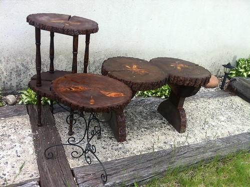 Handcrafted Pine Tables
