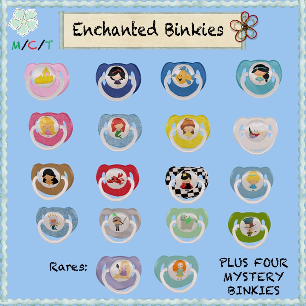 IP JR. Enchanted Binkies