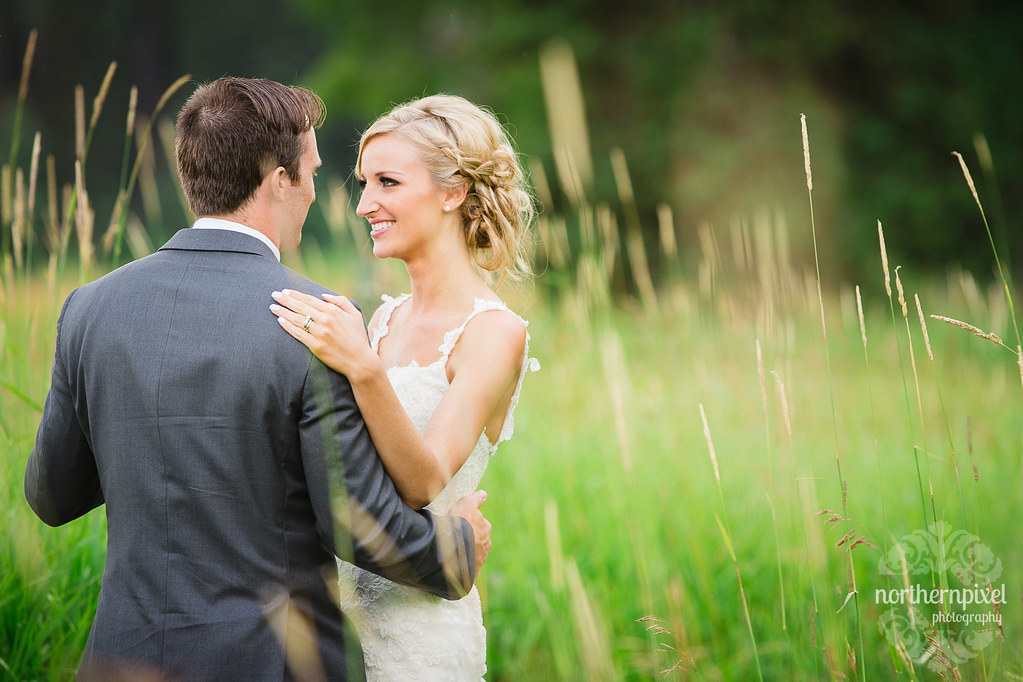Nick & Billie - Newlyweds at Huble Farm