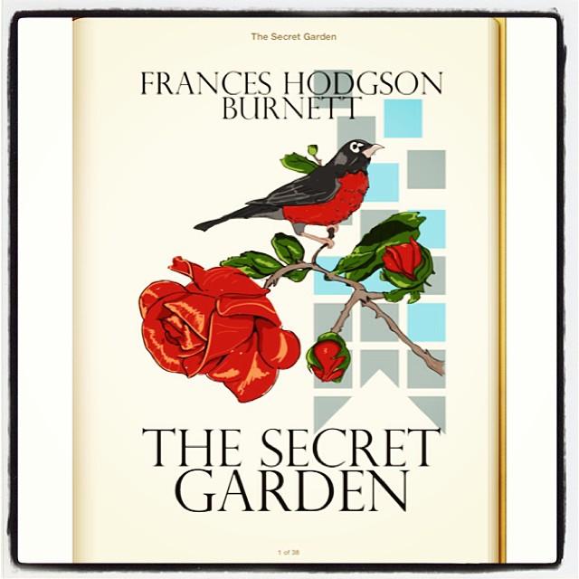Oct 15 - secret {a favourite novel from childhood} #fmsphotoaday #novel #childhood #ibooks