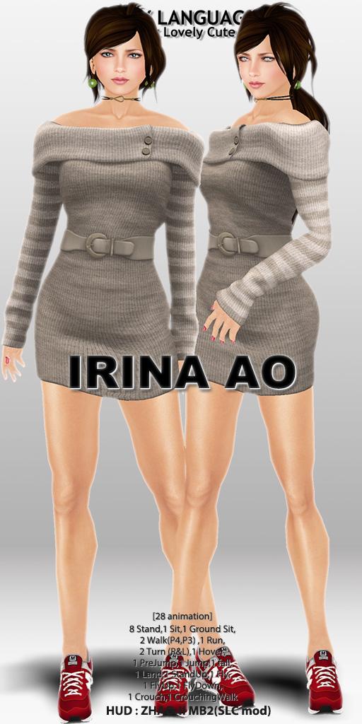 IRINA AO set