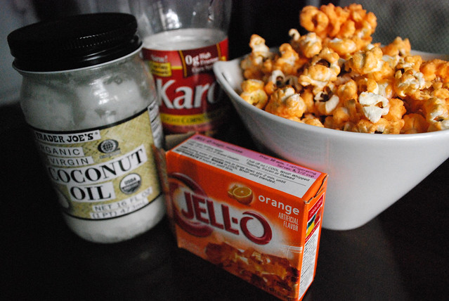Popcorn ingredients