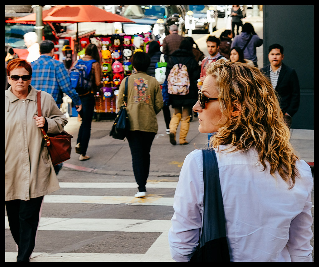 Waiting for a Ride - San Francisco - 2014