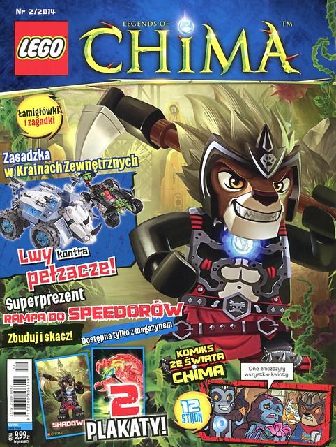 LEGO Legends of Chima Oficjalny Magazyn 2014-02 01