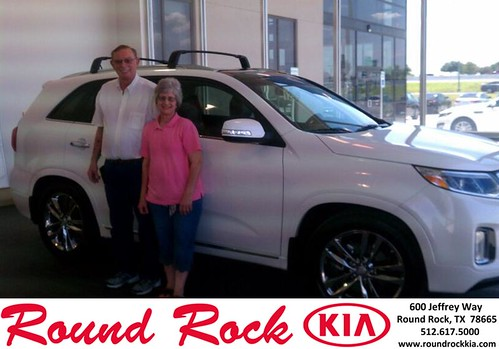 Thank you to Richard Reiss on the 2014 Kia Sorento from Fidel Martinez and everyone at Round Rock Kia! by RoundRockKia