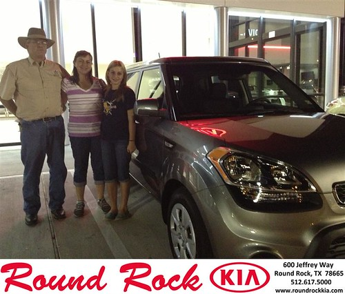 Thank you to Danny Goodrum on your new 2013 Kia Soul from Derek Martinez and everyone at Round Rock Kia! by RoundRockKia