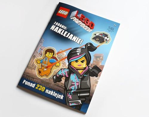 The LEGO Movie Zadanie Naklejanie zdjecie 1
