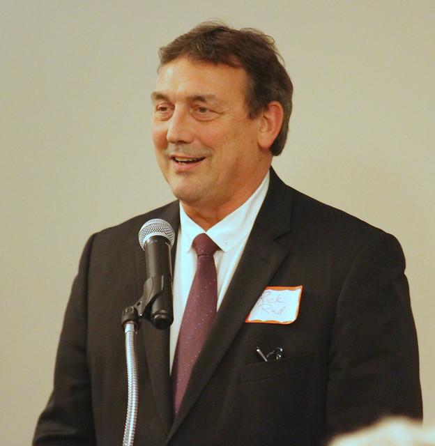 Rick Rud, Presenter for inductee Bill Olson.