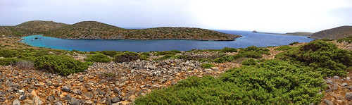 Panorama of our Bay in Levitha