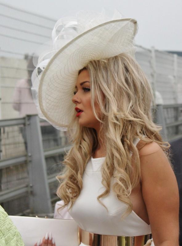 Ascot White Hat