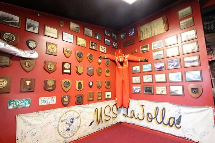 submarine memorabilia in Horse and Cow