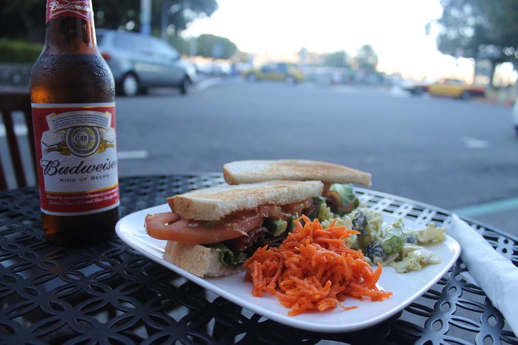 Sándwich en Sausalito