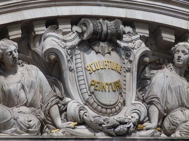 Opera Garnier façade detail