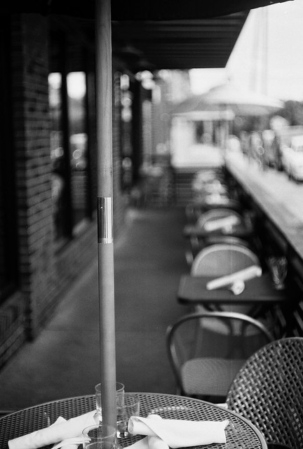 sidewalk cafe Trina Baker Photography