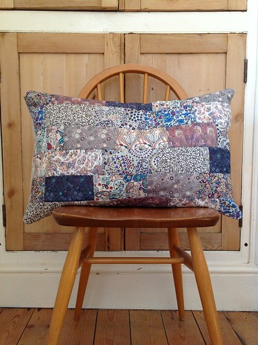 Liberty cushion cover by Claire