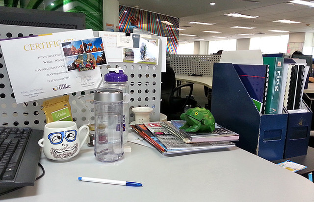 Office Desk: August 2013 #2