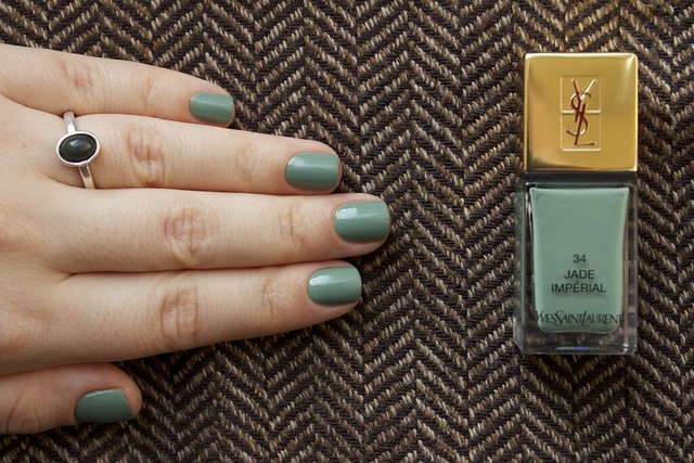 13 YSL Jade Imperial swatches