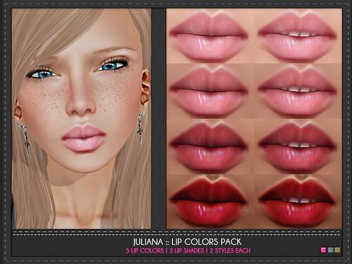 Juliana Lip Colors