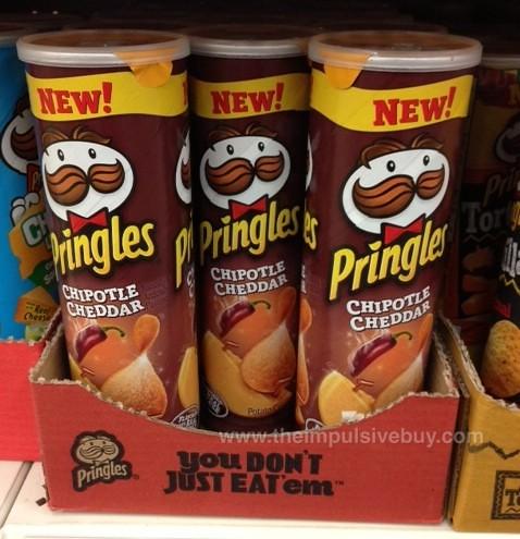 Chipotle Cheddar Pringles
