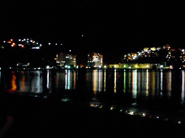 Ocho Rios, Jamaica at night.