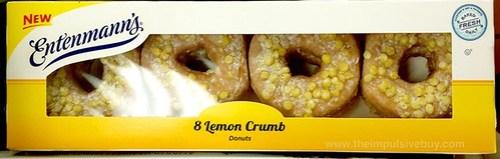 Entenmann's Lemon Crumb Dontus
