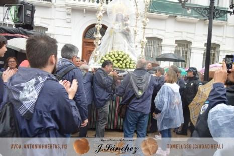 Llegada de la Virgen de las Viñas a Tomelloso 2017